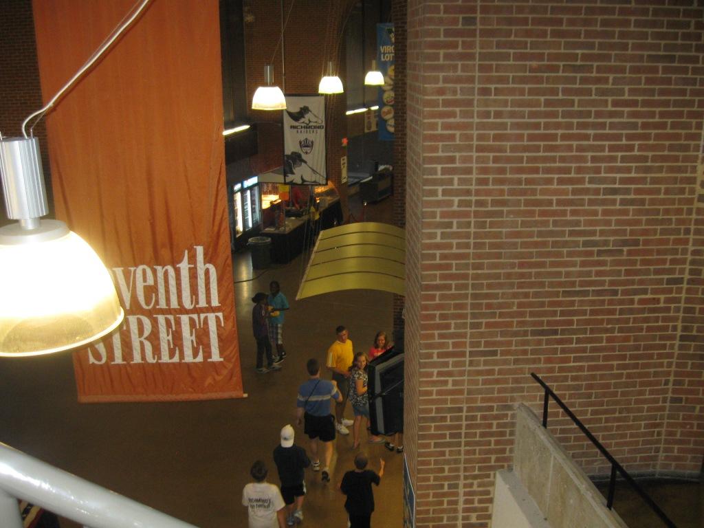 Richmond Coliseum Concourse