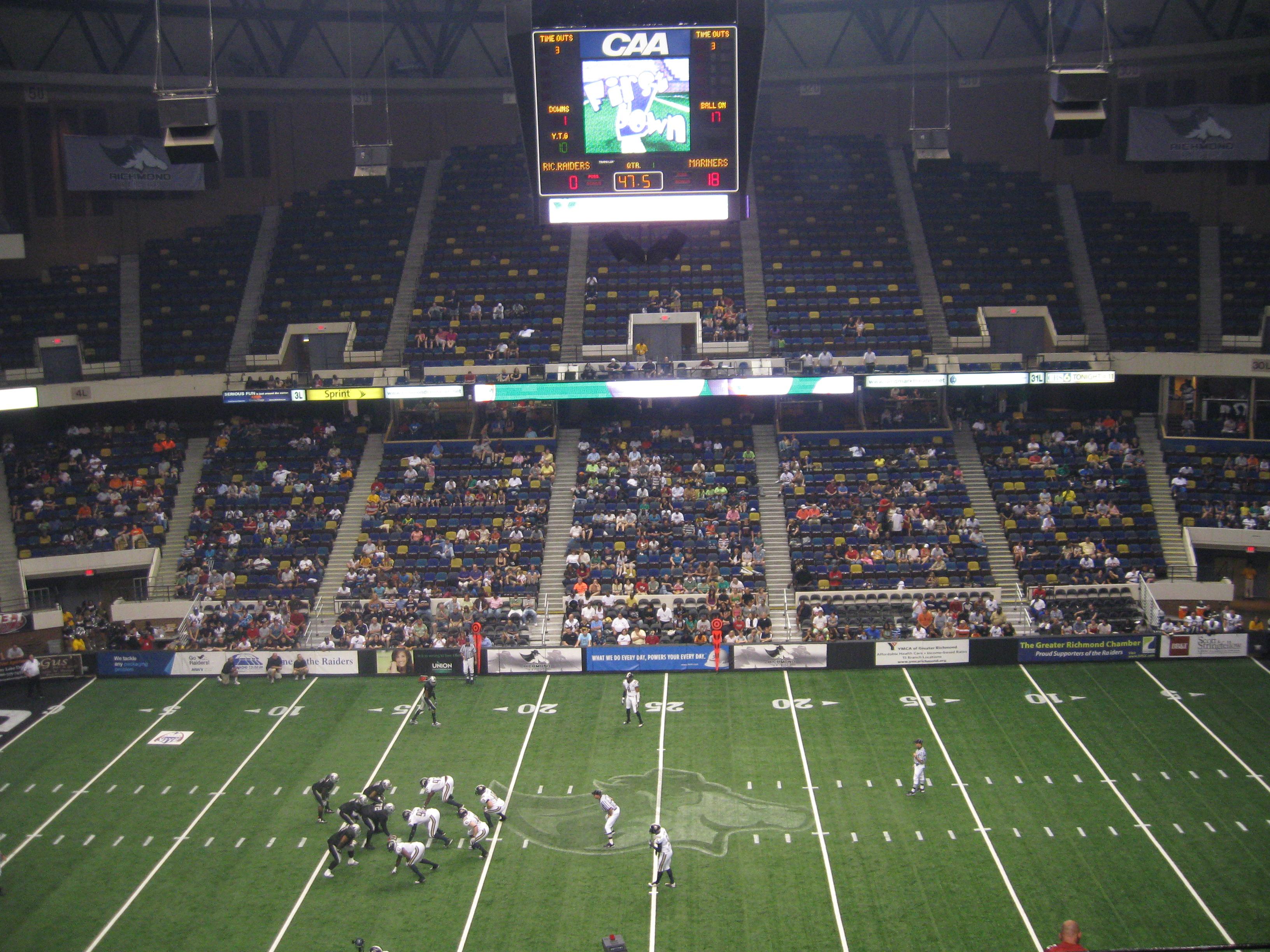77 Richmond Coliseum 171 Stadium And Arena Visits
