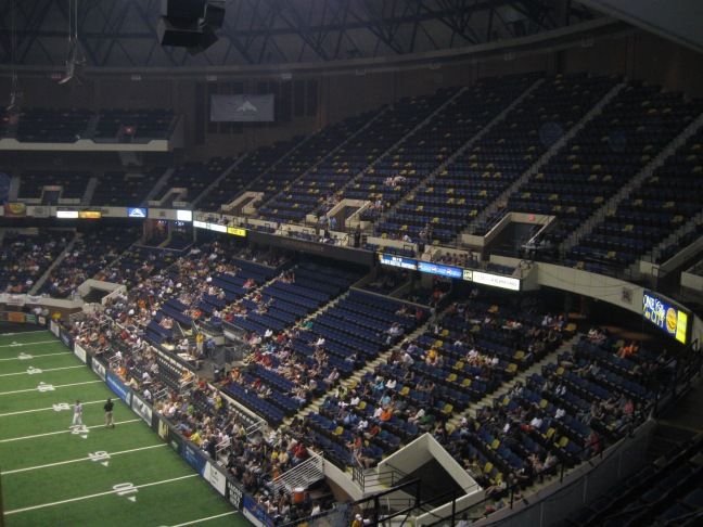 Richmond Coliseum Interior
