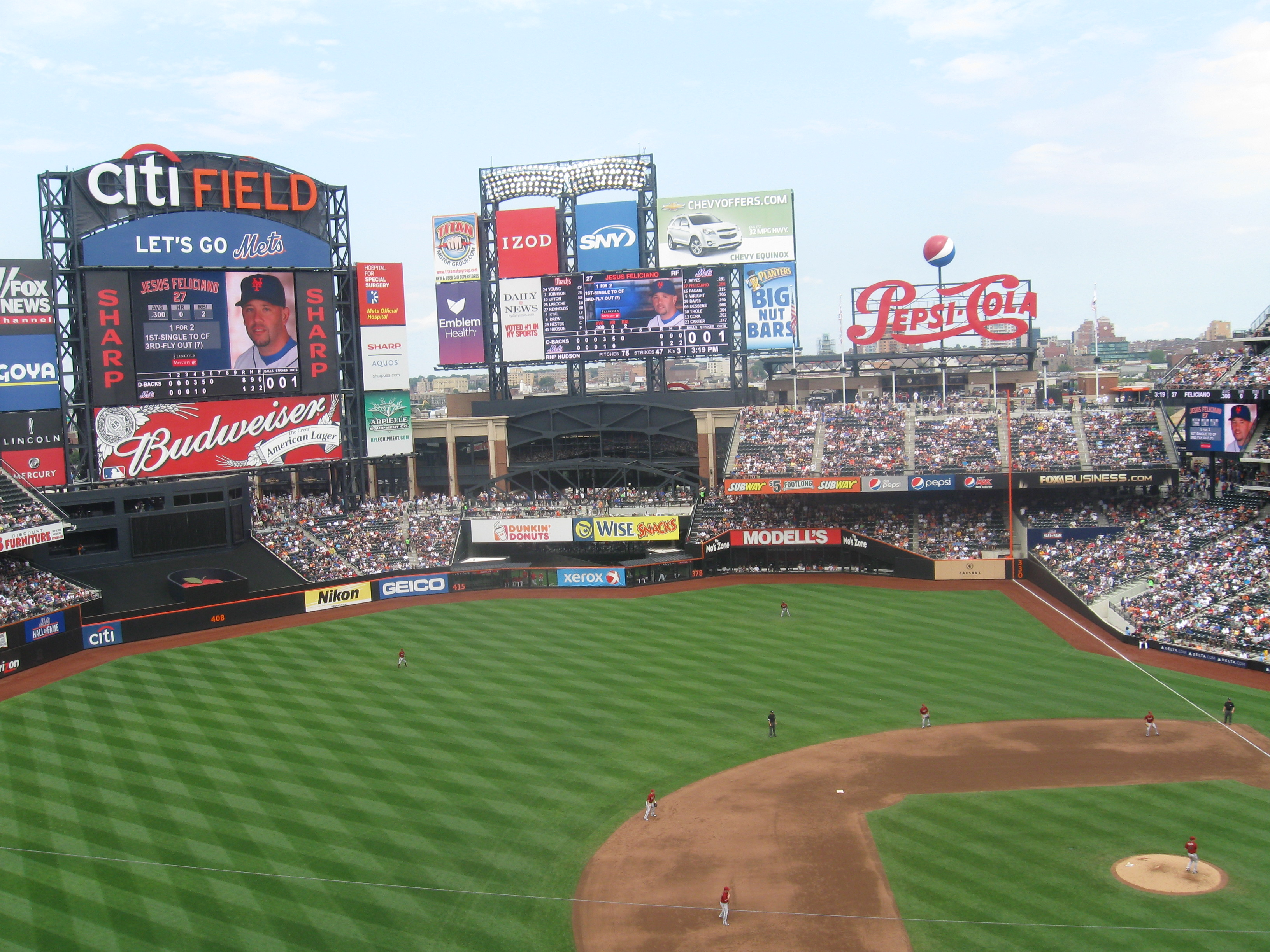 Wrapping Up A Visit To Citi Field 171 Stadium And Arena Visits