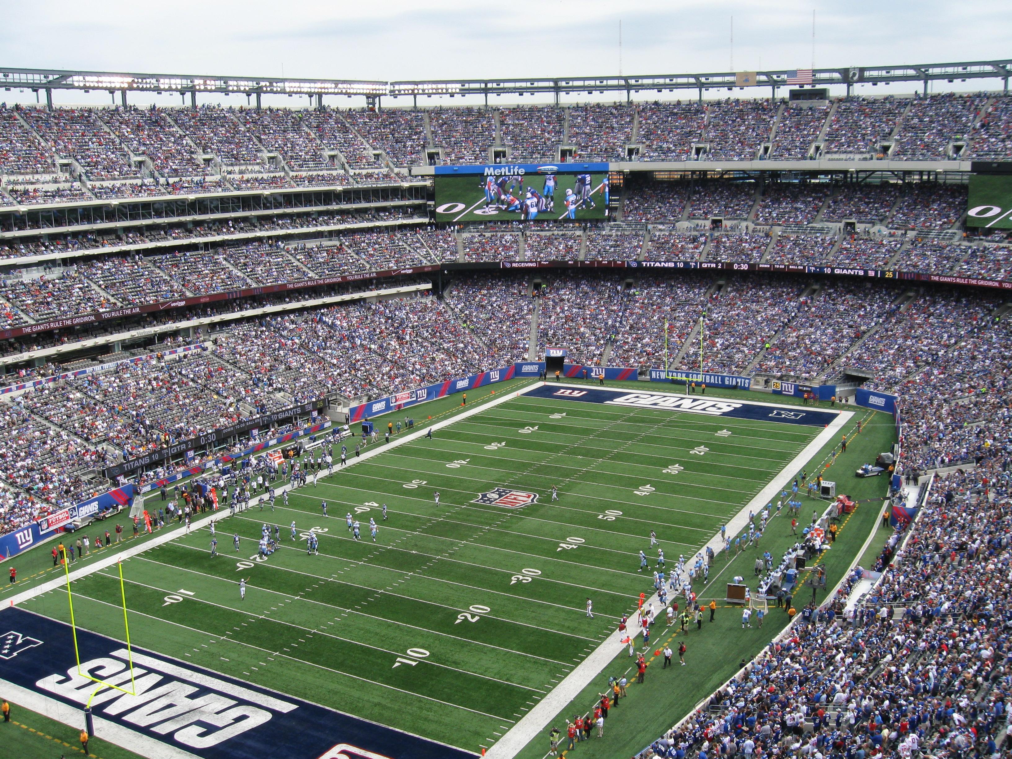 85 Metlife Stadium 171 Stadium And Arena Visits