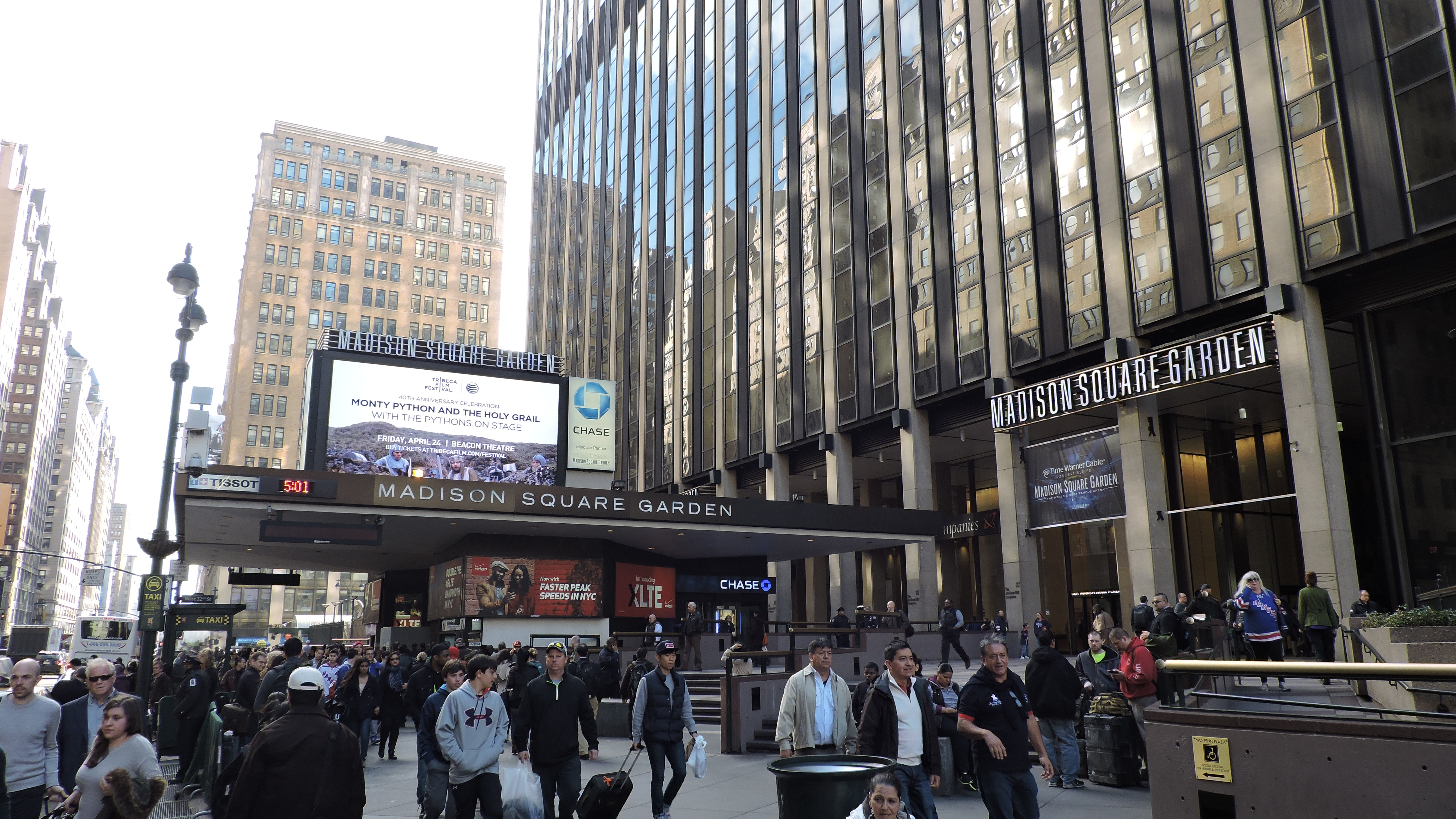 88 madison square garden stadium and arena visits for Address of madison square garden