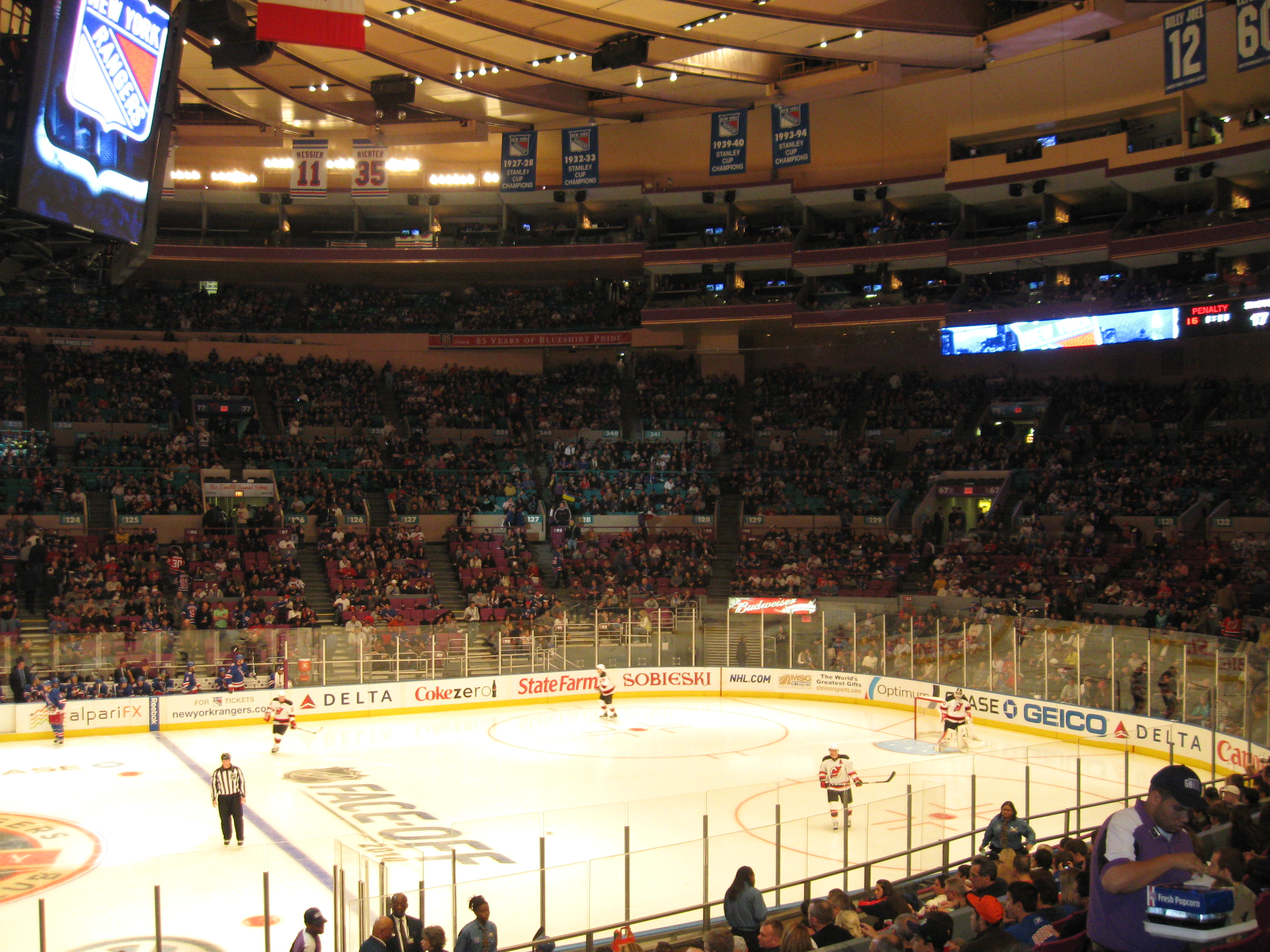 Madison Square Garden Stadium And Arena Visits