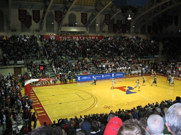 The Palestra in Philadelphia, PA: My favorite venue of 2011