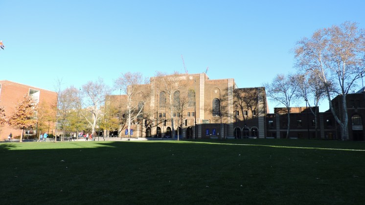 The Palestra Exterior