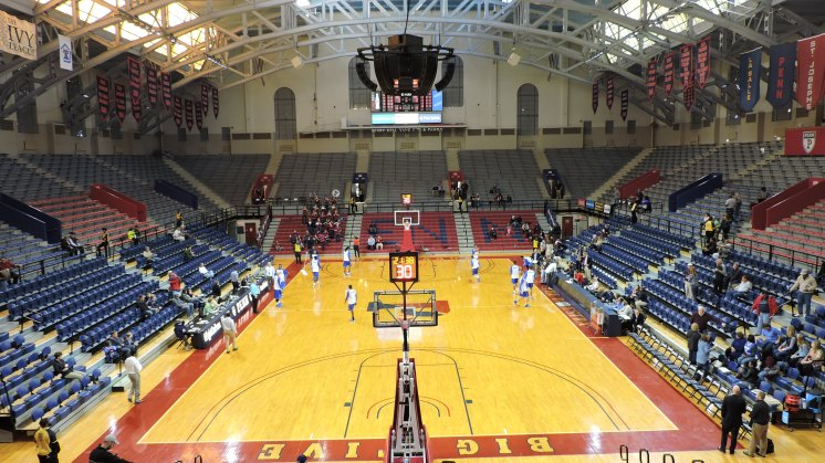 The Palestra Interior