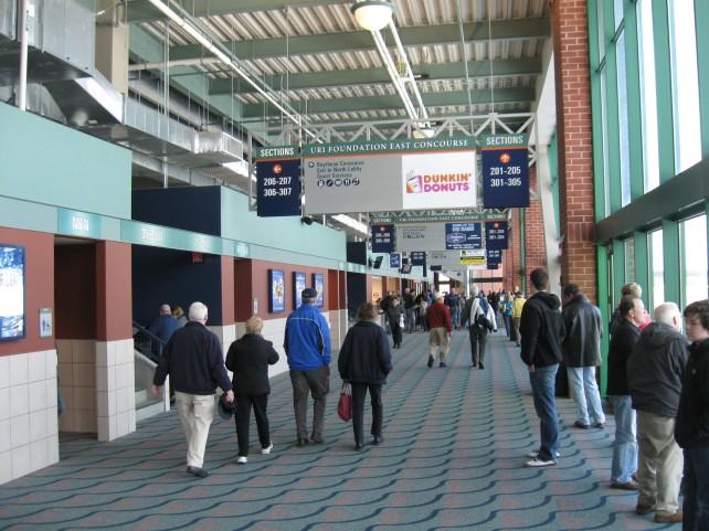 Ryan Center Stadium And Arena Visits