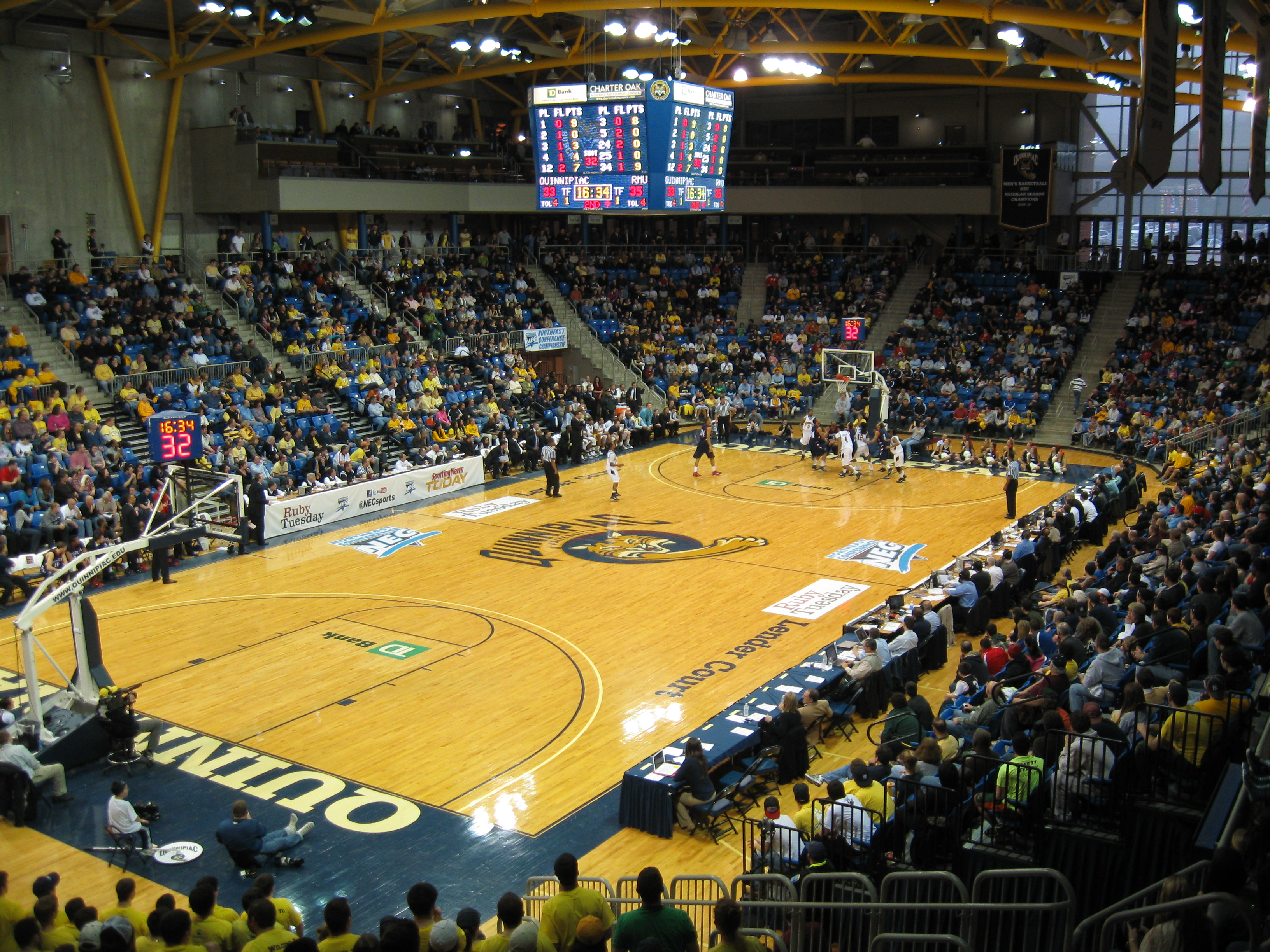 Quinnipiac Basketball « Stadium and Arena Visits