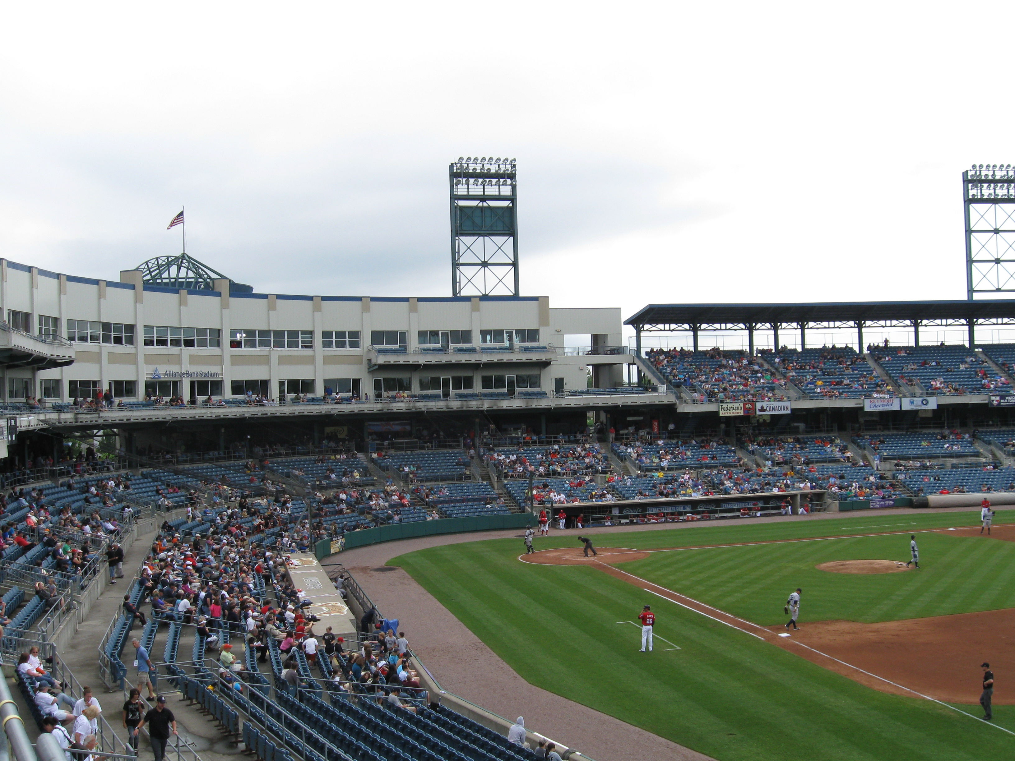 Revisiting The Syracuse Chiefs 171 Stadium And Arena Visits
