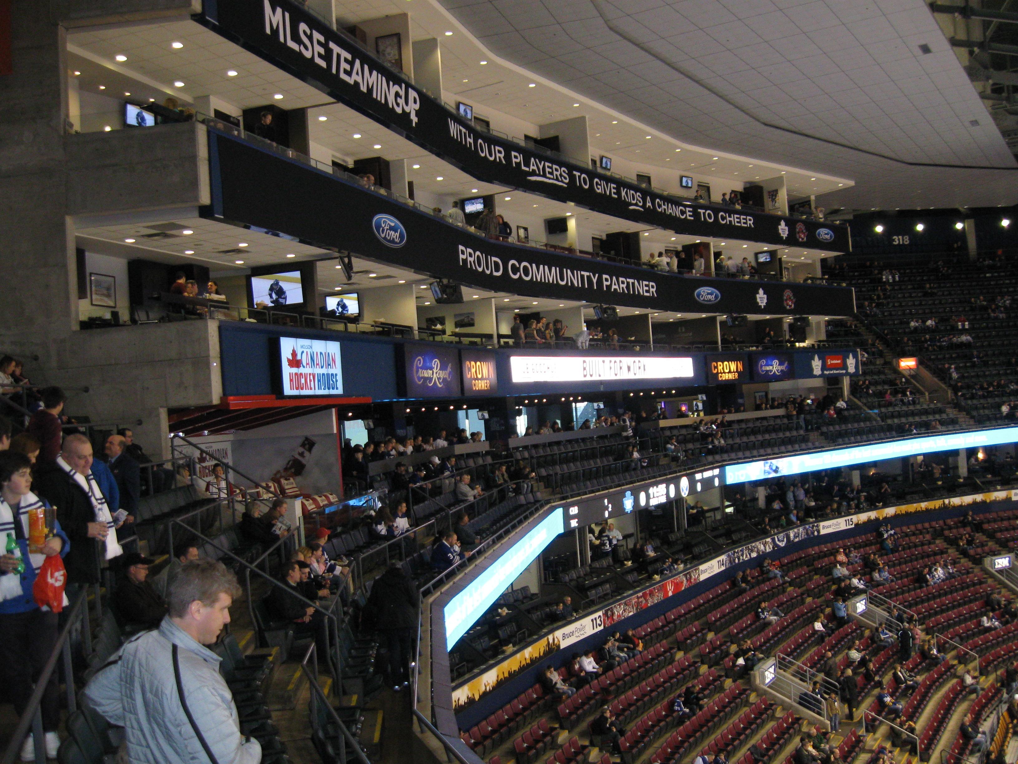 Diamond Box Xl >> Scotiabank Arena – Stadium and Arena Visits
