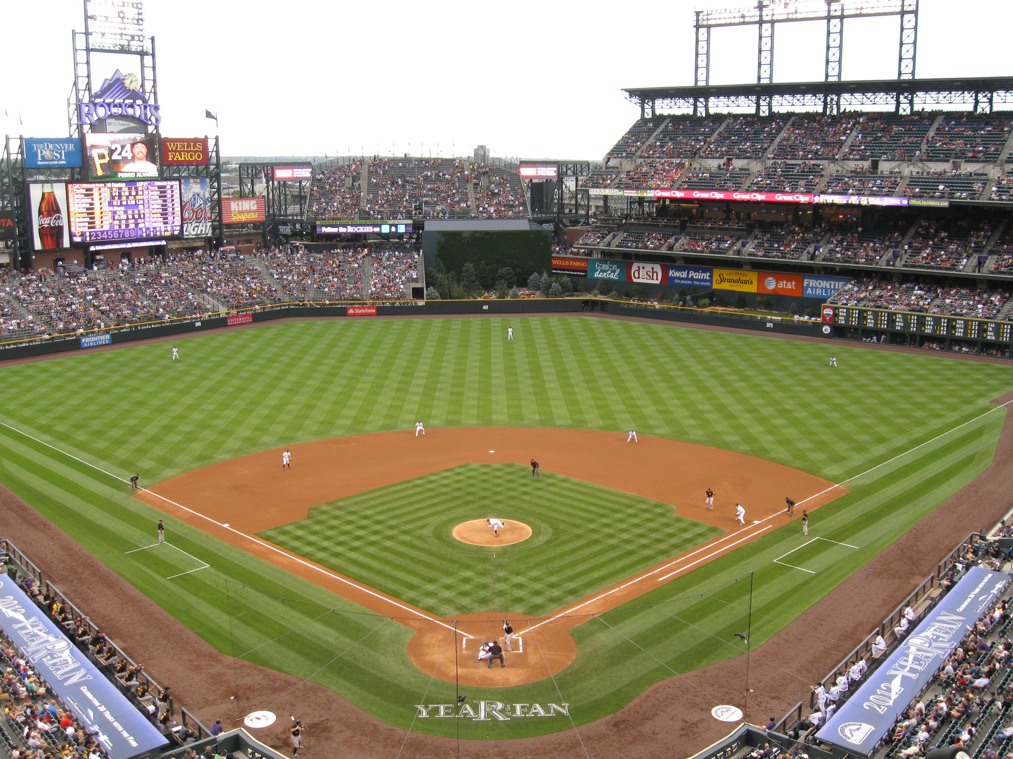 119 Coors Field 171 Stadium And Arena Visits