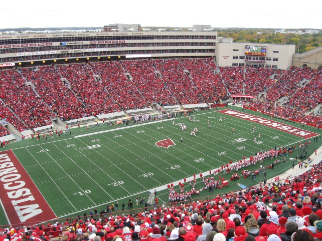 Camp Randall Stadium Interior