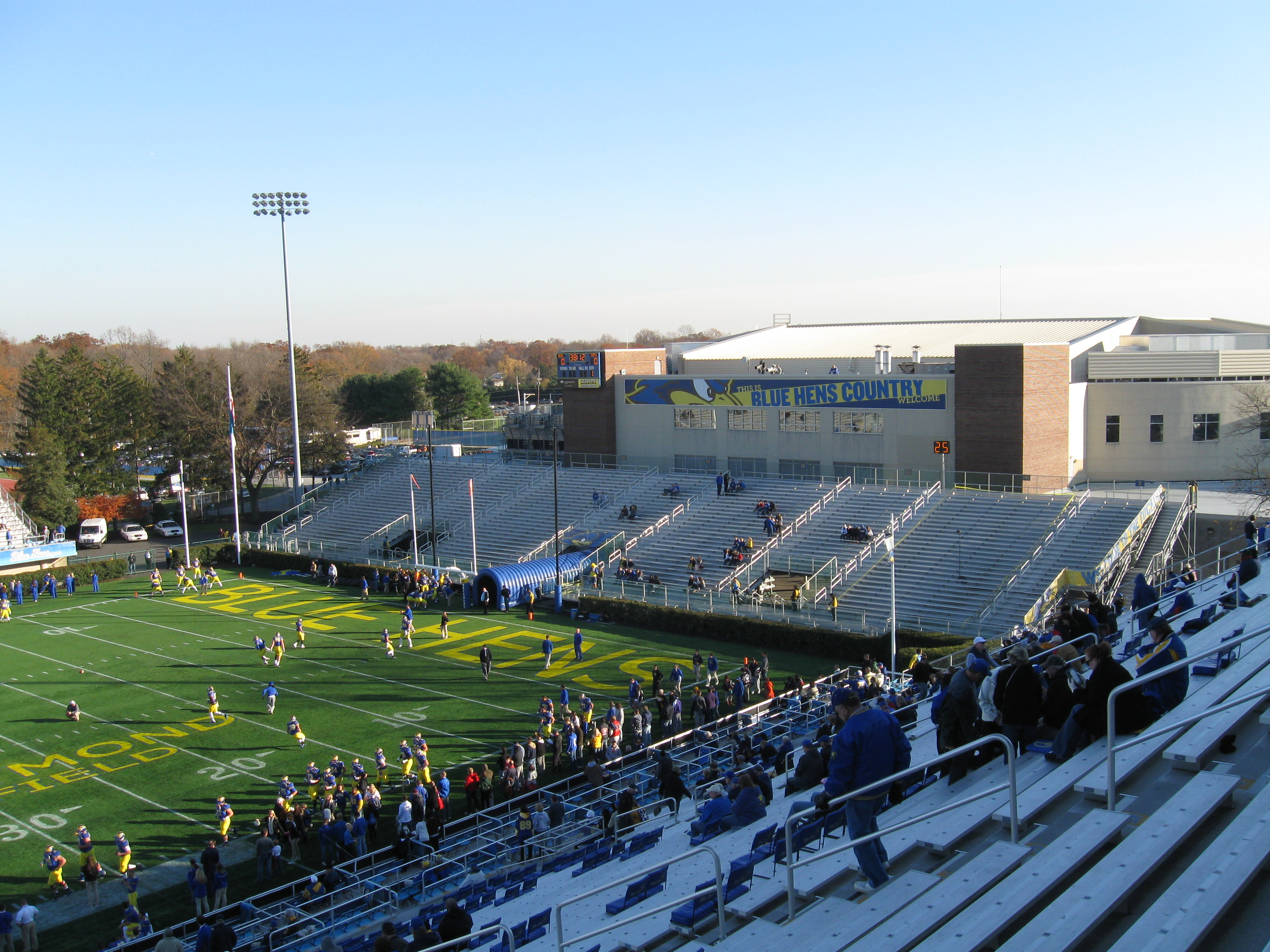 Delaware Stadium Stadium And Arena Visits