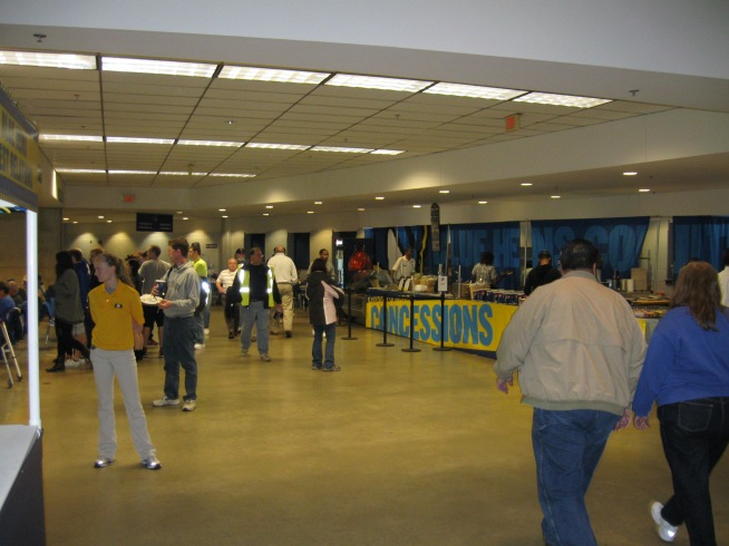 Bob Carpenter Center Concourse