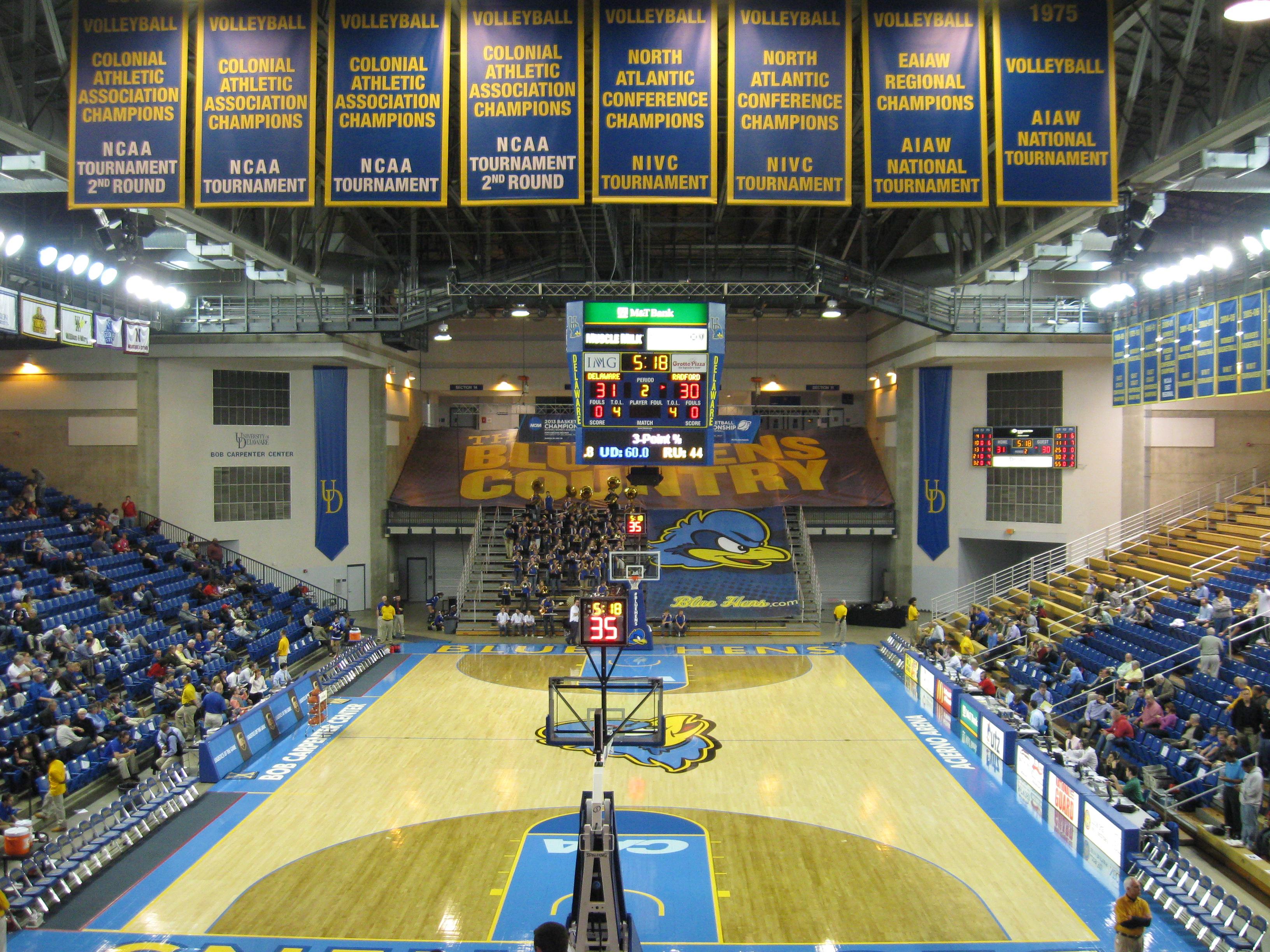 Bob Carpenter Center Stadium And Arena Visits