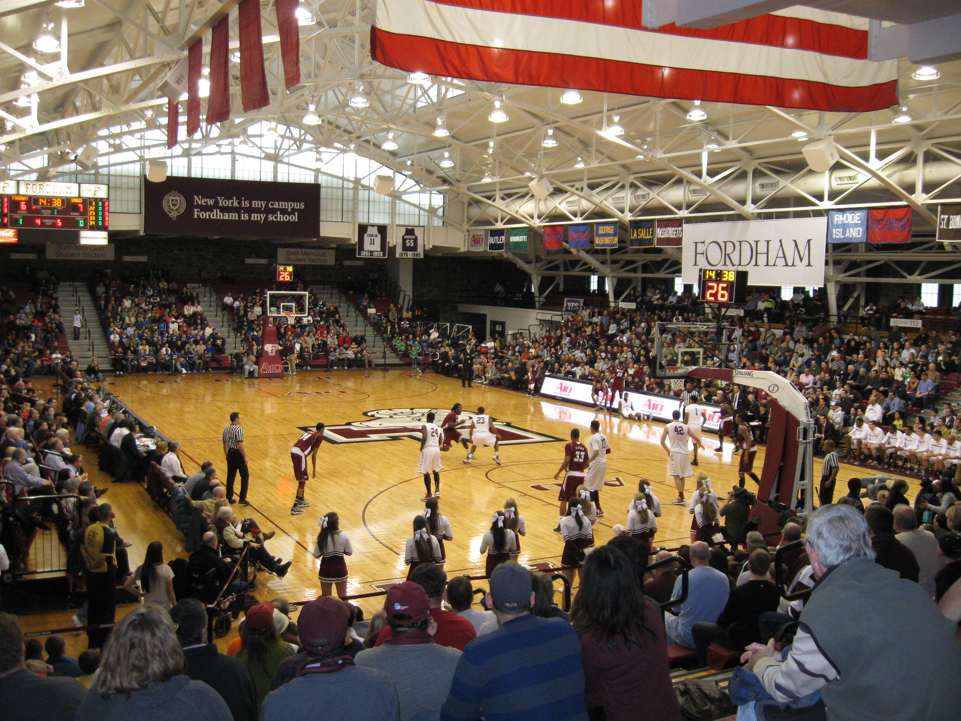 Rose Hill Gym Stadium And Arena Visits