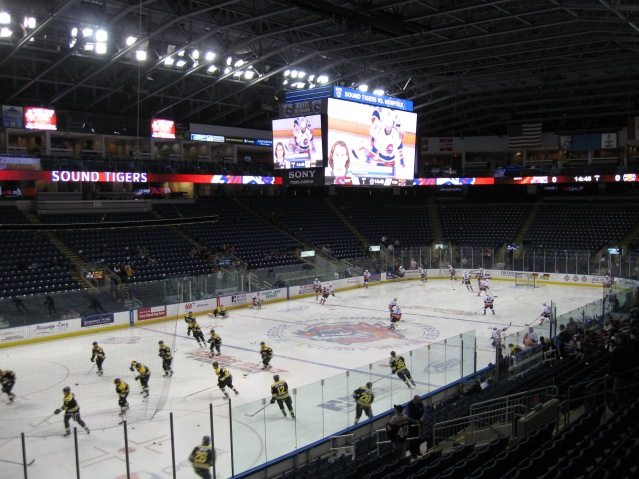 Webster Bank Arena Interior