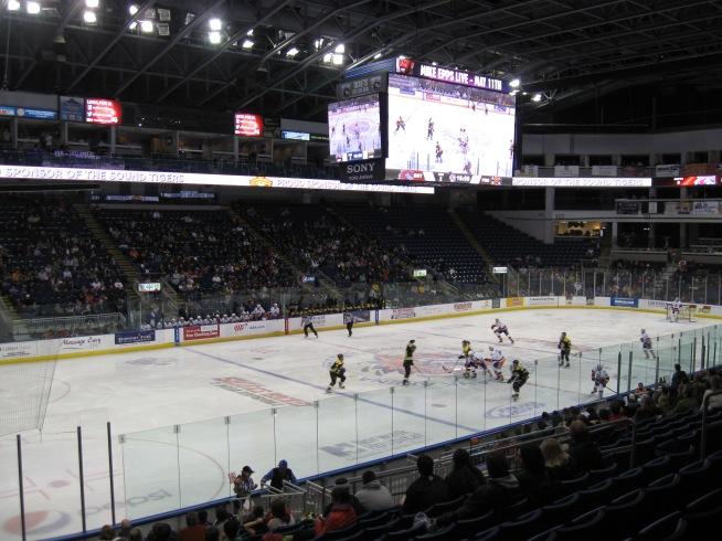 Webster Bank Arena Interior