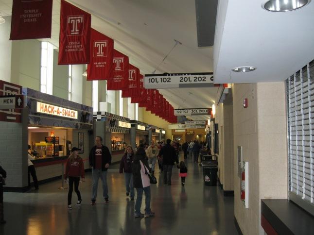 Liacouras Center Concourse