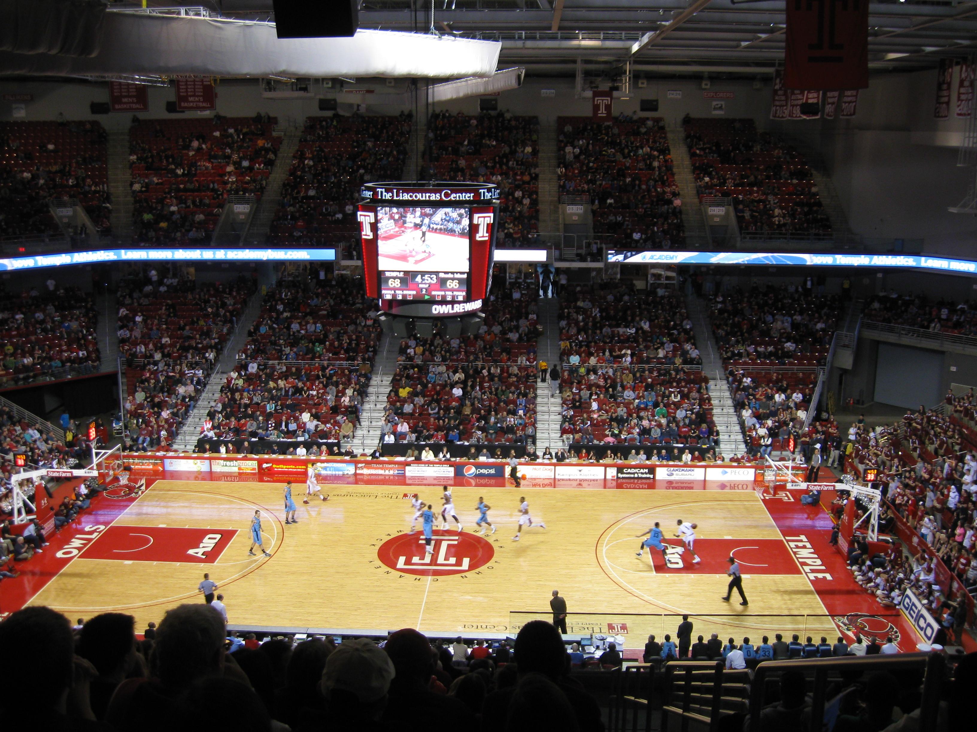130 Liacouras Center 171 Stadium And Arena Visits