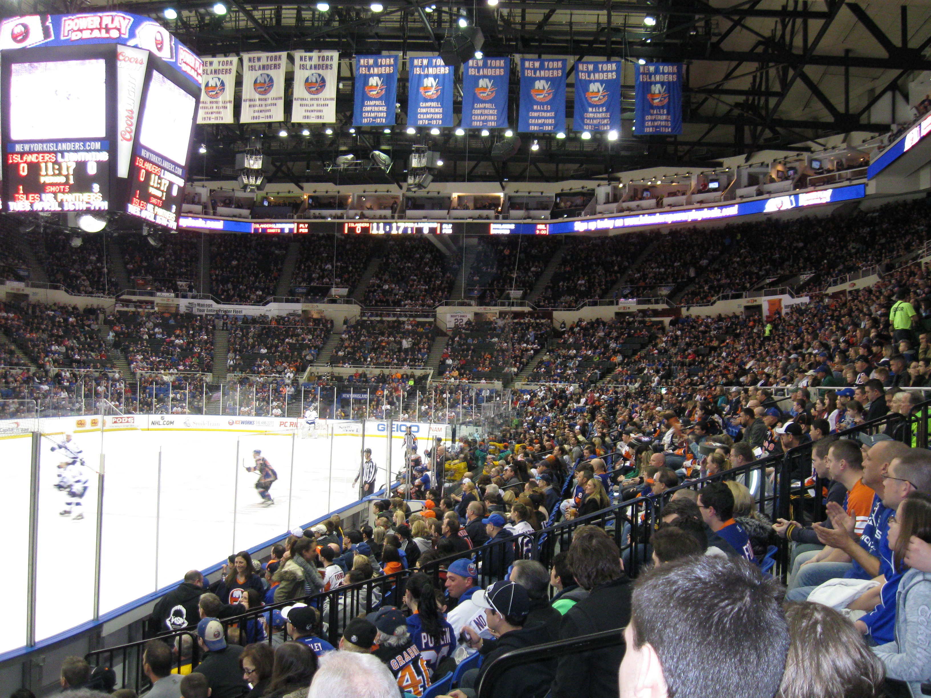 14 Nassau Coliseum 171 Stadium And Arena Visits