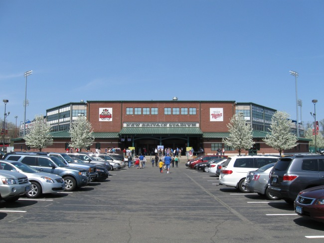 New Britain Stadium Exterior