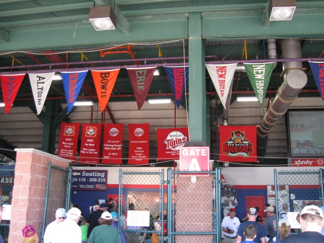 New Britain Stadium Concourse