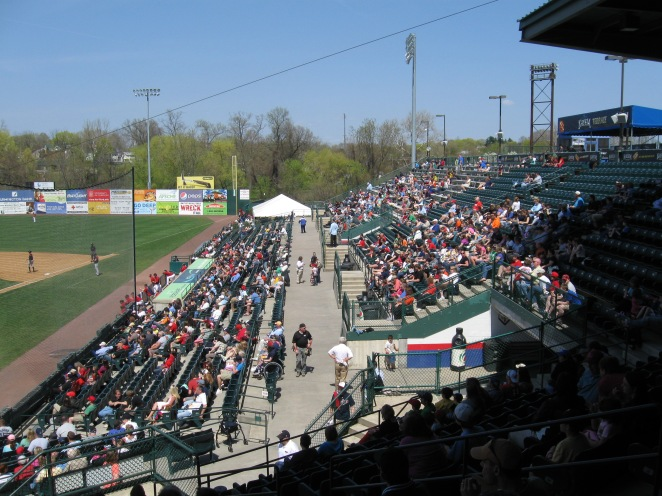 New Britain Stadium Interior