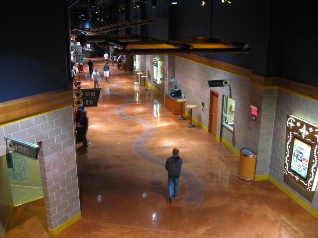 Mohegan Sun Arena Concourse
