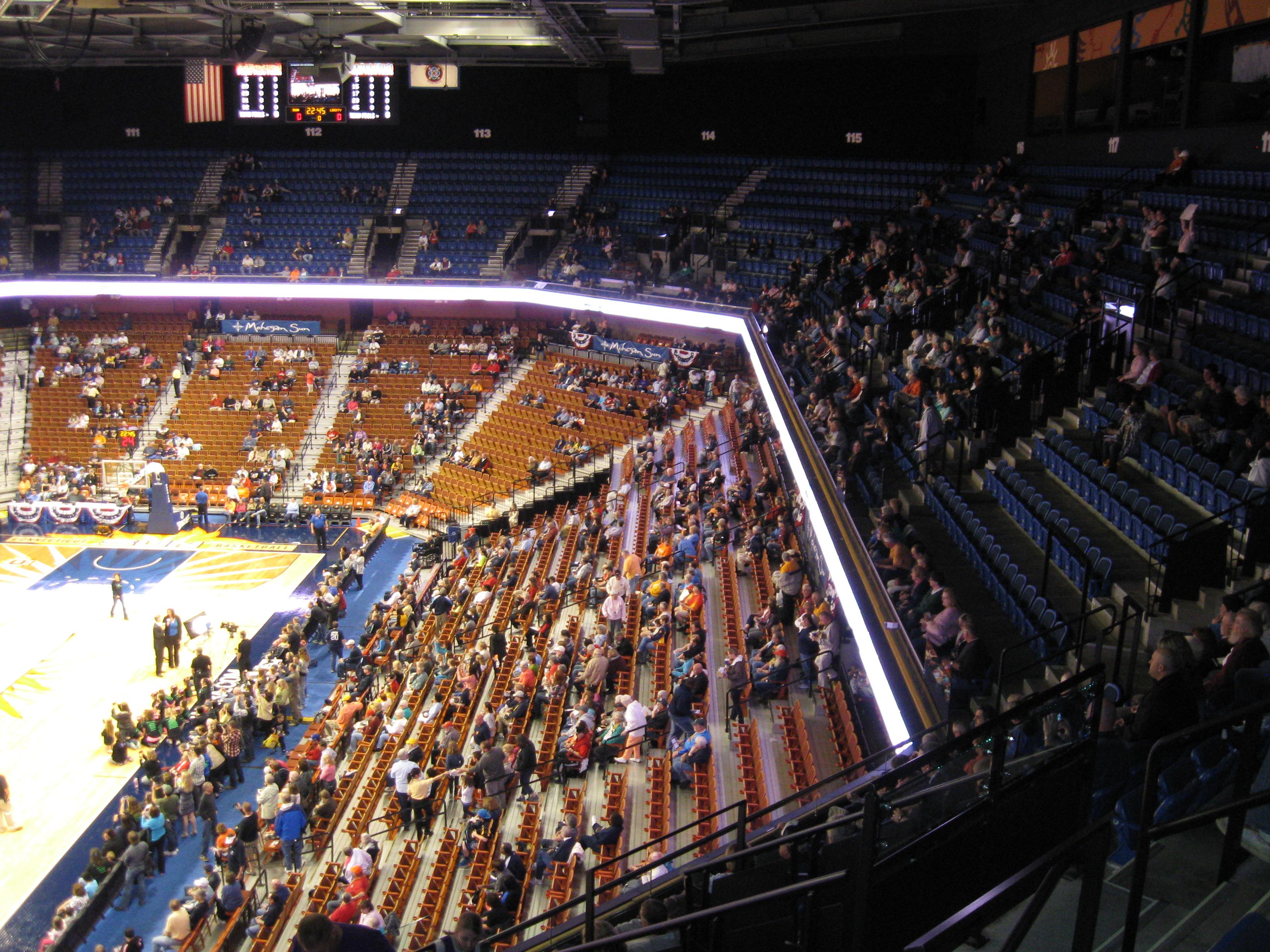 132 Mohegan Sun Arena 171 Stadium And Arena Visits
