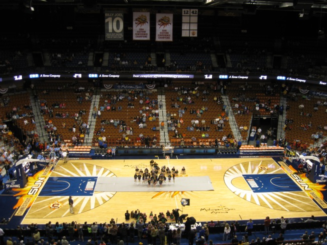 Mohegan Sun Arena Interior