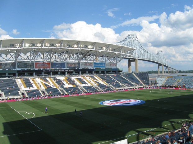 Close call, but PPL Park is my favorite stadium of 2013
