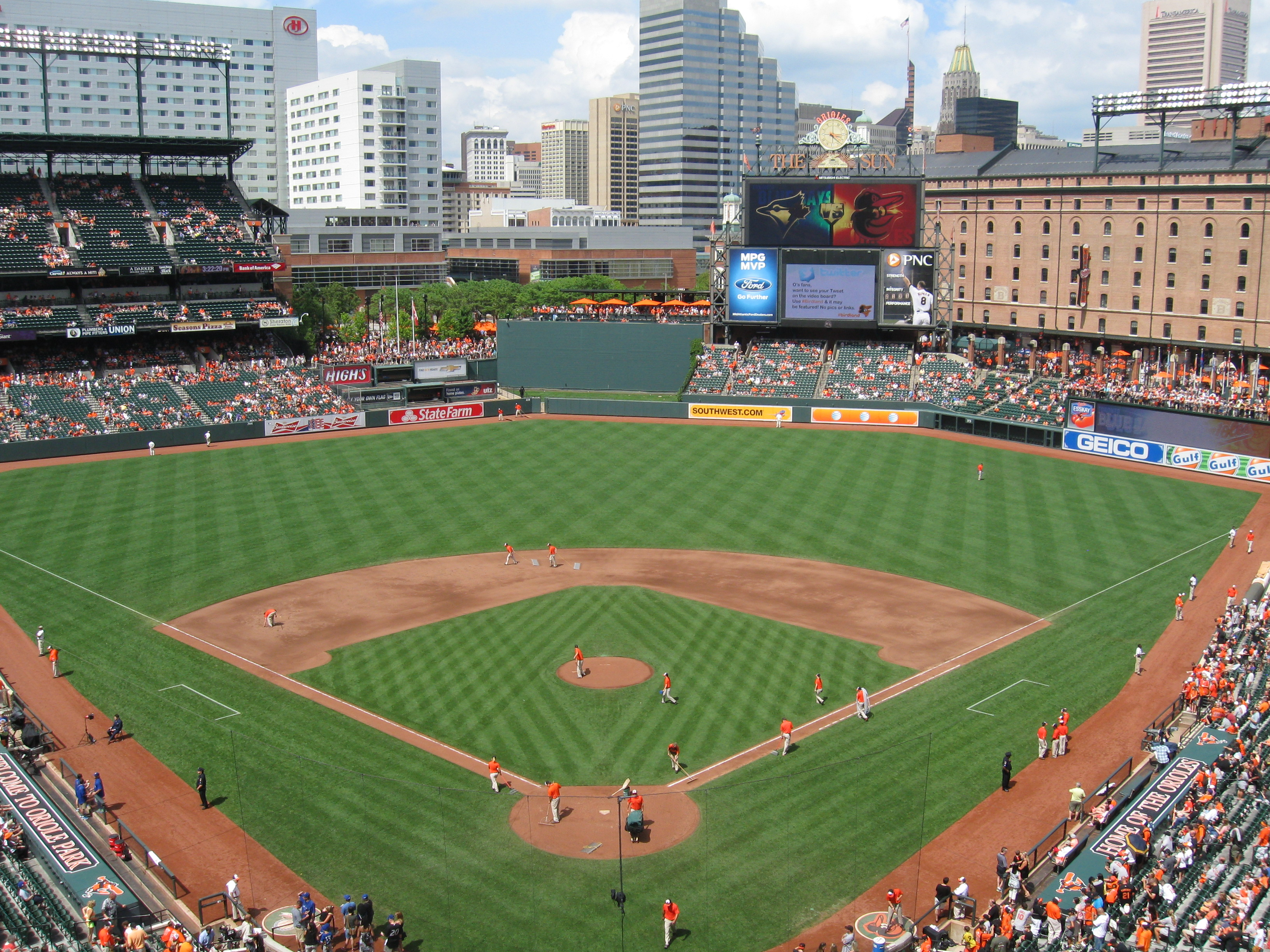 133 Camden Yards 171 Stadium And Arena Visits