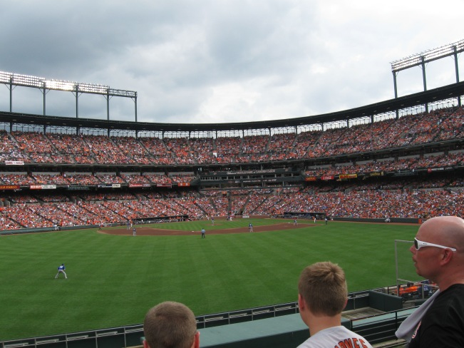 Camden Yards Interior