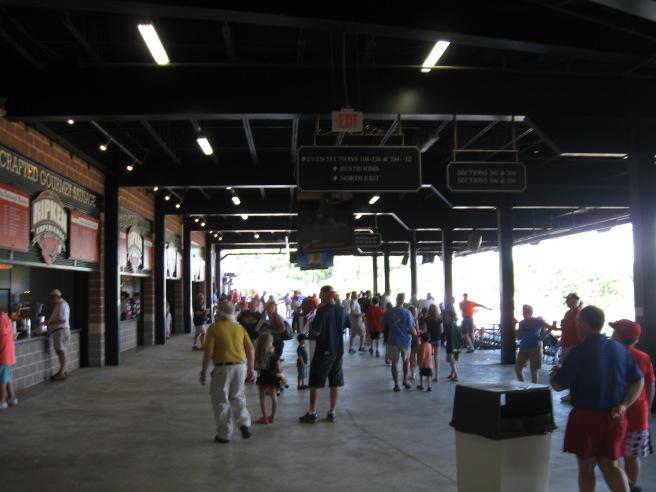 Ripken Stadium Concourse