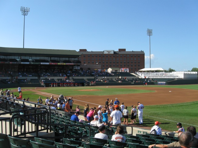 Ripken Stadium Interior