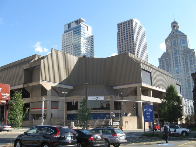XL Center Exterior