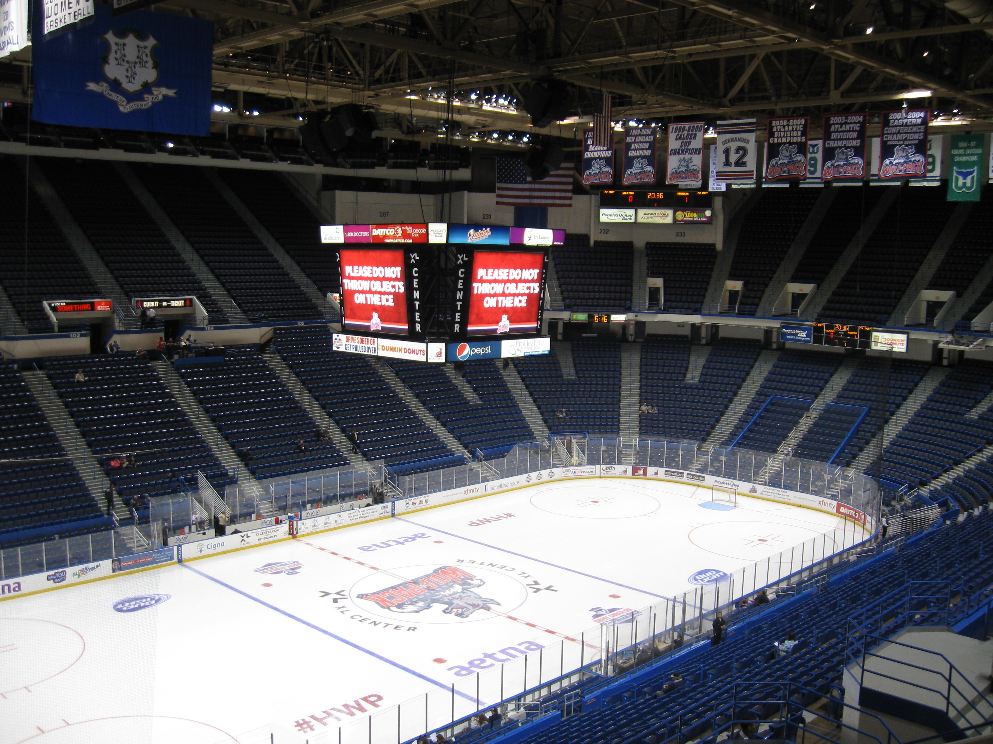 138 Xl Center 171 Stadium And Arena Visits