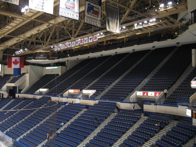 XL Center Interior