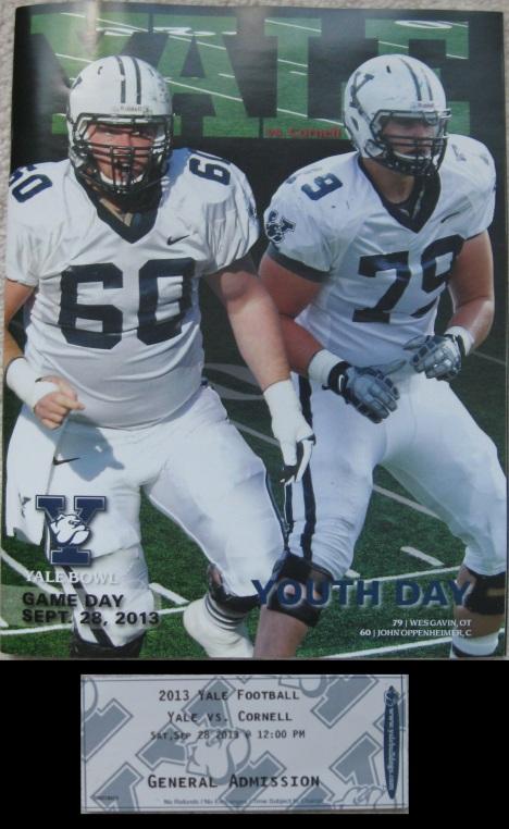 Yale Bowl pgrm_tic