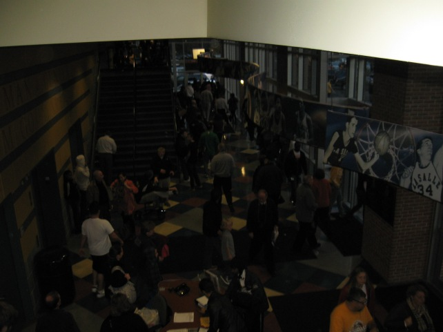 Tom Gola Arena Concourse