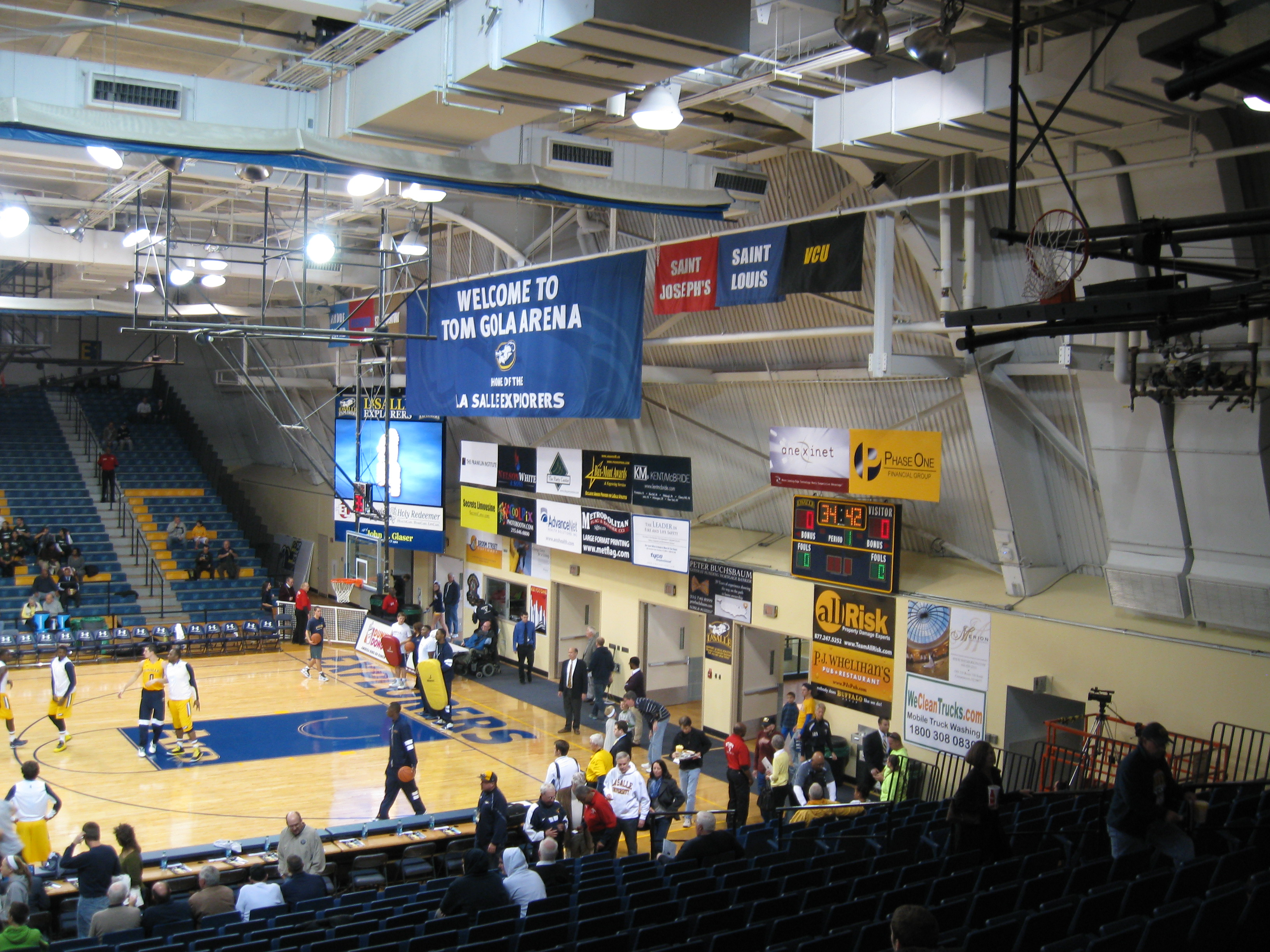 139 Tom Gola Arena Stadium and Arena Visits