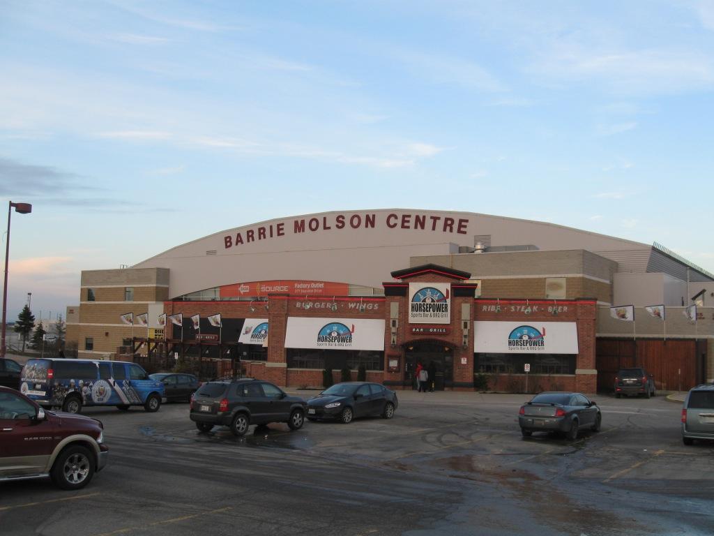Barrie Molson Centre Exterior