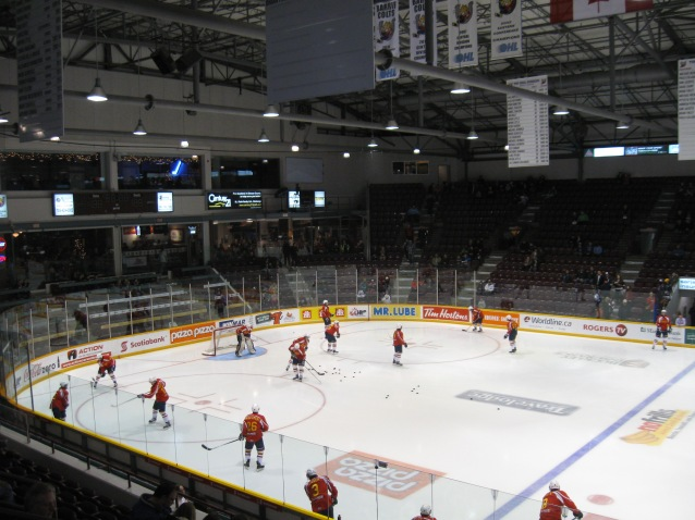 Barrie Molson Centre Interior