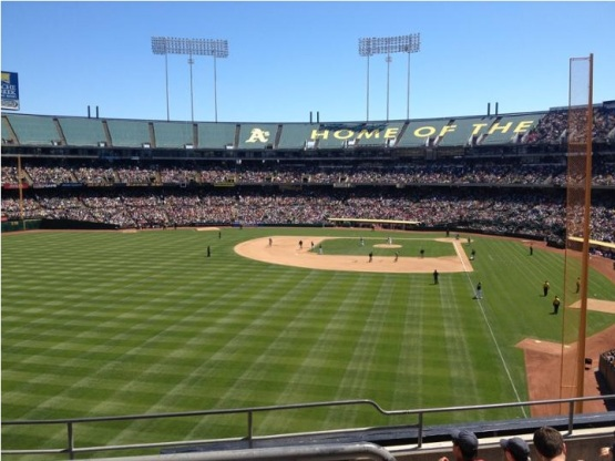 What will be the future of the Oakland A's (picture from Stadium Journey)