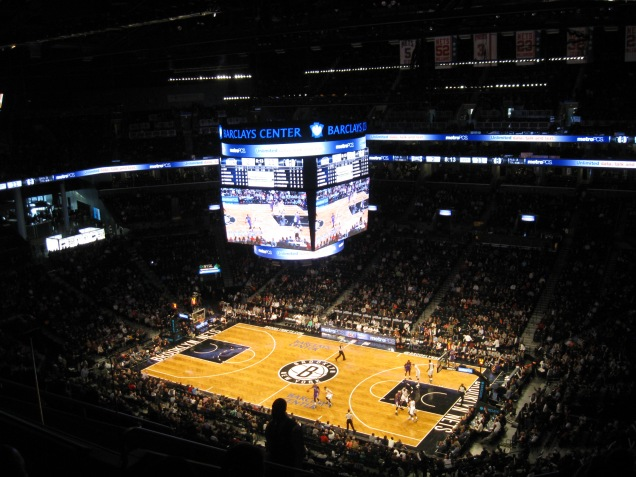 Barclays Center Interior