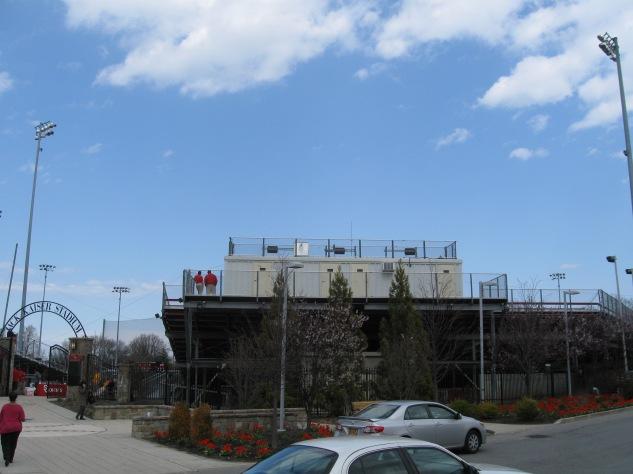 Jack Kaiser Stadium Exterior