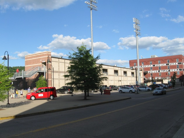 Appalachian Power Park Exterior