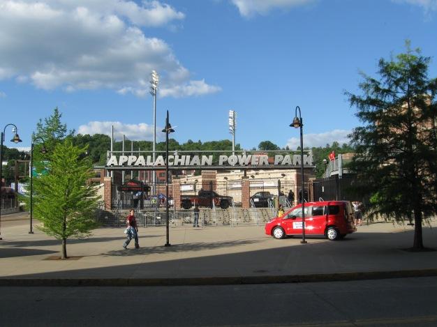 Appalachian Power Park Exterior