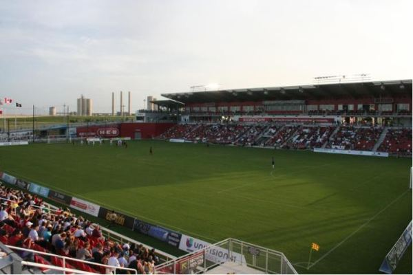 Toyota Field in San Antonio, TX (picture from Paul Donaldson and Stadium Journey)